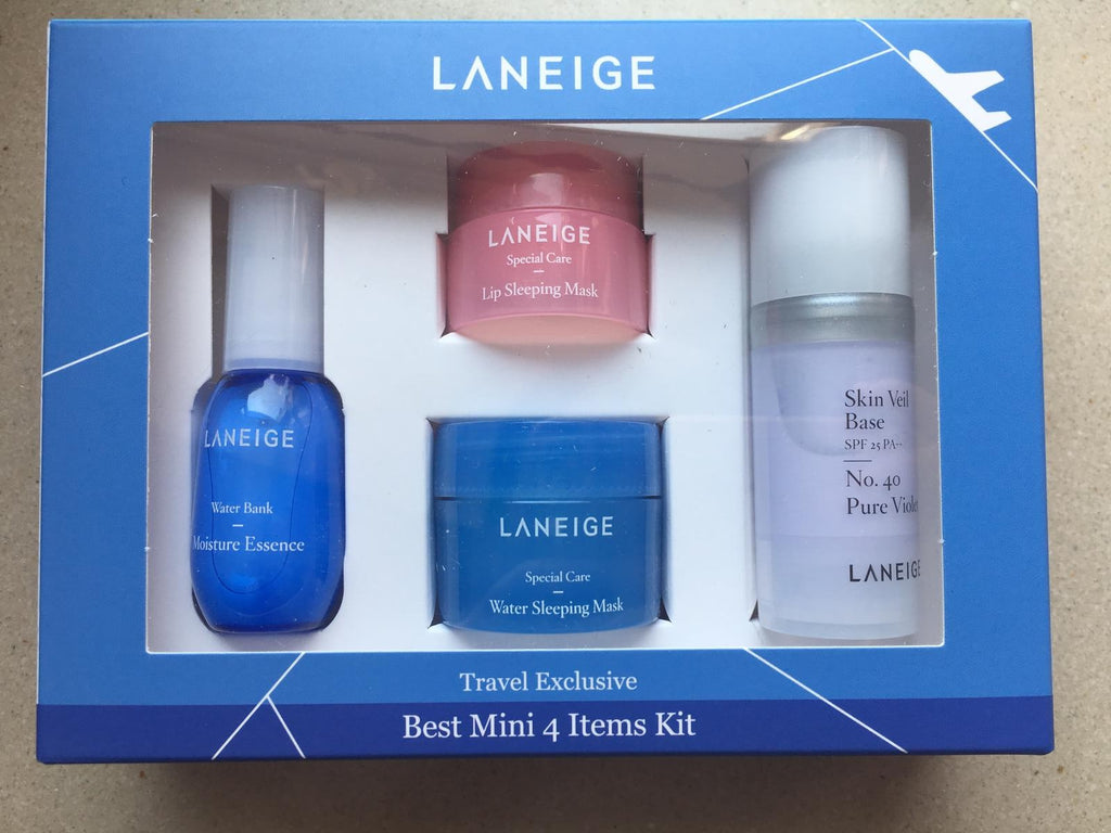 LANEIGE Best Mini 4 Items Kit Travel Exclusive Cosme Hut kbeauty Korean Skincare Australia