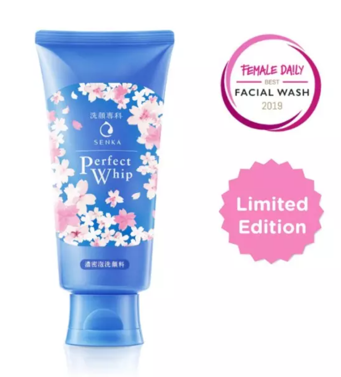 SHISEIDO Senka Perfect Whip Foam Wash Cosme Hut kbeauty Korean Skincare Australia