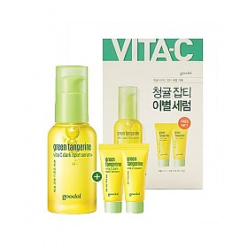 GOODAL Green Tangerine Vita C Dark Spot Serum Special Set Cosme Hut kbeauty Korean Skincare