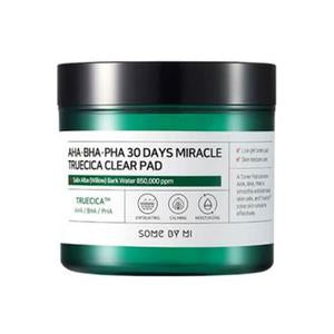 SOME BY MI AHA BHA PHA 30 Days Miracle Truecica Clear Pad Cosme Hut korean beauty Australia