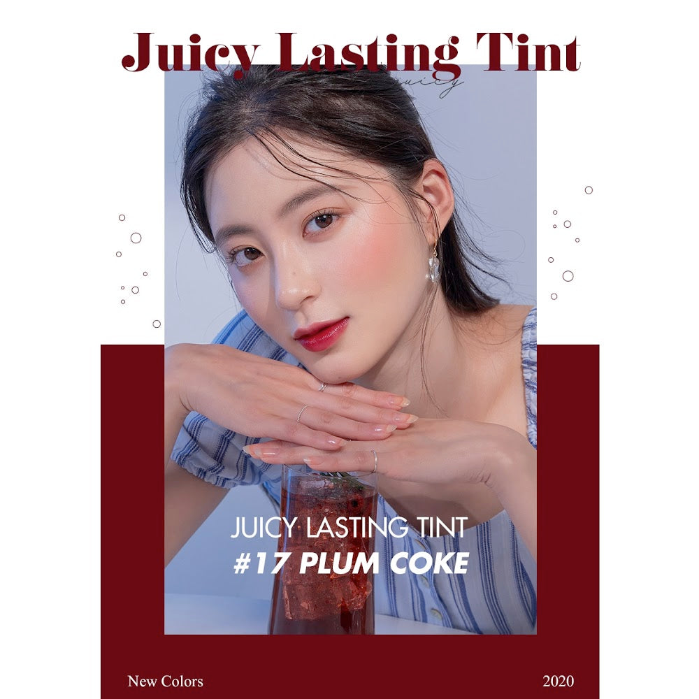 ROM&ND Juicy Lasting Tint (Sparkling Juicy) Edition Cosme Hut kbeauty Korean Skincare Australia
