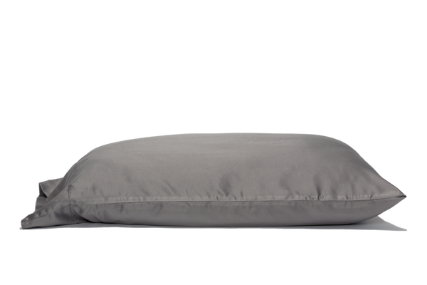 Zinc Infused Pillowcase - Gray