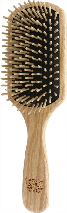 Big Rectangular Brush with short wooden pins FSC 100%