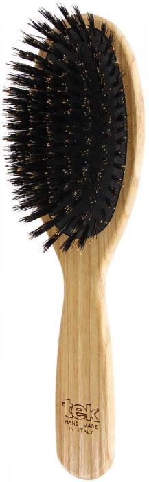 Big Oval Pneumatic Brush with Wild Boar Bristles FSC 100%