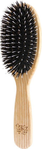 Big Oval Pneumatic Brush with W' Boar & Nylon Bristles FSC 100%