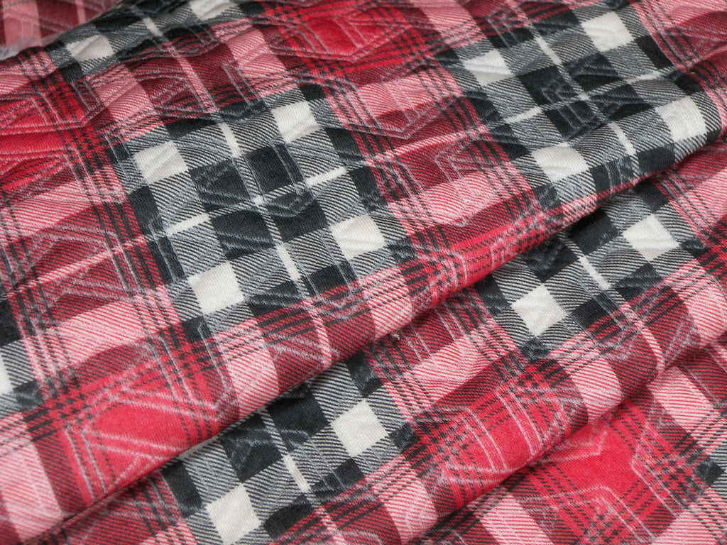 Red Plaid - Stretch Wrap