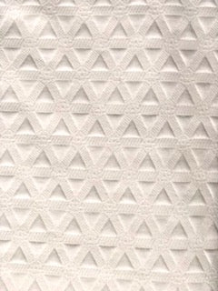 Ivory Triangles - Posing Fabric