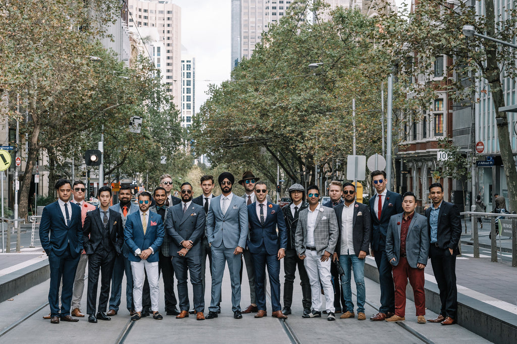 The gentlemen of Dappertude 2017  photo cred: @joe_cheng