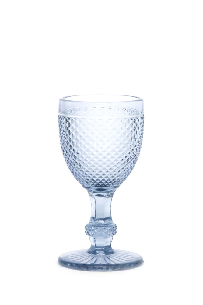 Caldas White Wine Glass in Grey