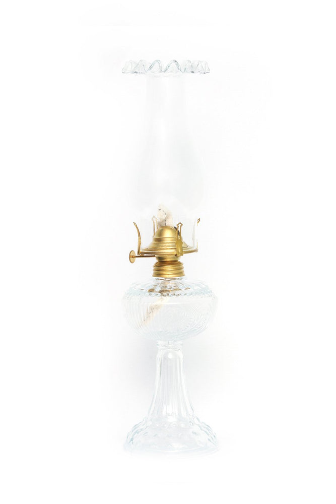 Camara Lamp in Clear