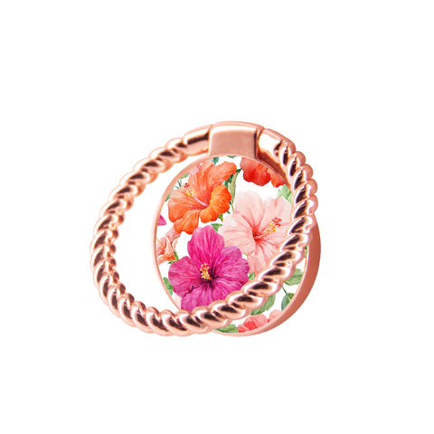 Finger Ring Stand Floral