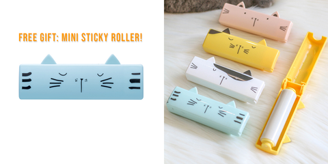 Easy Pet Hair Remover Roller Free Gift