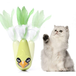 Wobbling Bird Toy For Cats