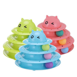 Cute Cat Play Tower