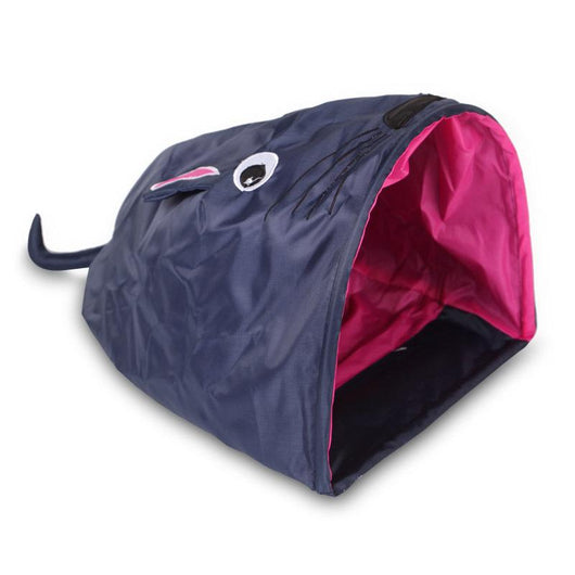 Crinkle Kitty Play Tent