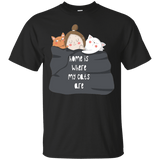 Home Is Where My Cats Are Tee