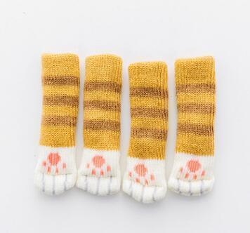 Cute Paw Socks for Chairs and Tables (1 Set)