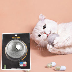 Felt Ball Cat Toy With Catnip