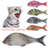 NEW! Catnip Fish Kickers For Cats