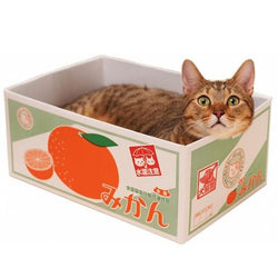 Japanese Fruit Box Cat Bed