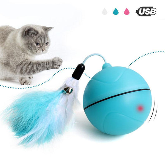 New Led Magic Laser Ball With Tail Usb Chargeable