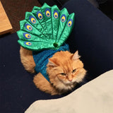 2-Piece Cat Peacock Costume