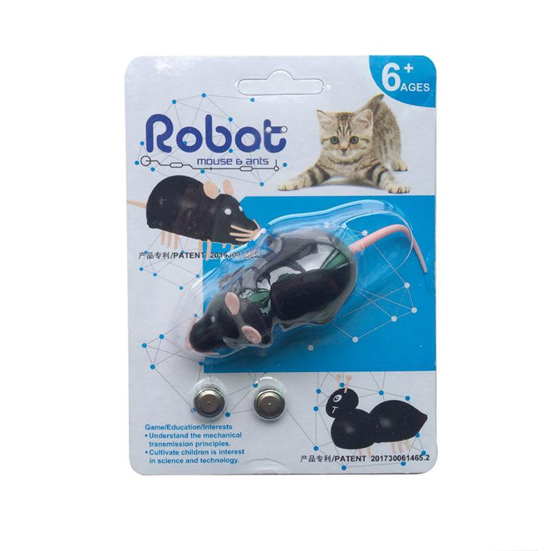 [Clearance Sale] Robot Mouse & Ant Cat Toy
