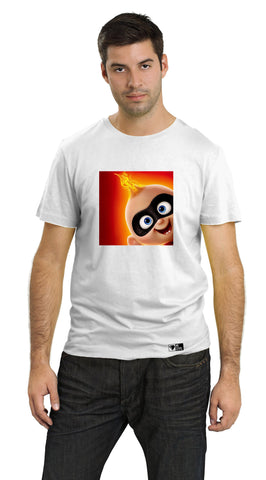 BeCivil The Incredibles - Baby on Fire Unisex TShirt