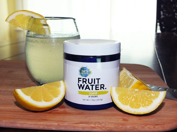 Fruit Water - Lemon - 30 Serving Jar