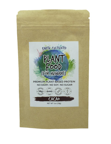 (Single Serving) Plant Protein Powder Mix SUPERFOOD