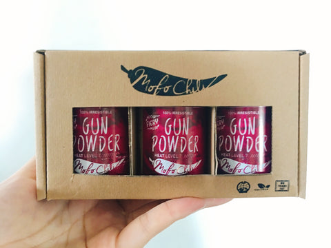 MOFO Gunpowder Gift Pack - Singapore Souvenir