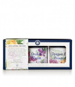 Singapore Orchid Tea Gift Set (The Clipper Tea)