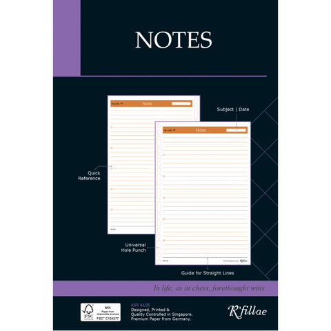 Futuring | A5 Refill for Notes