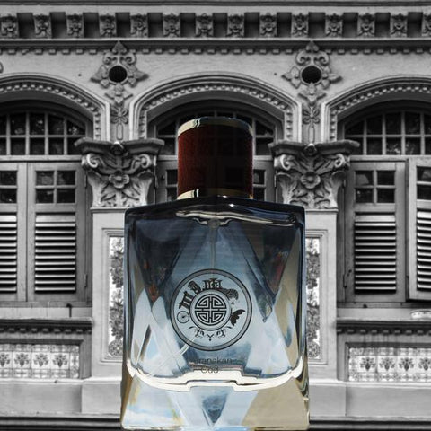 Unisex Cologne Made in Singapore - Peranakan Oud | Singapore Souvenir