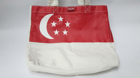 The Singapore Flag Tote Bag - SG50 Collection - SG Style