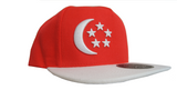 Singapore Snapback Cap | Left View