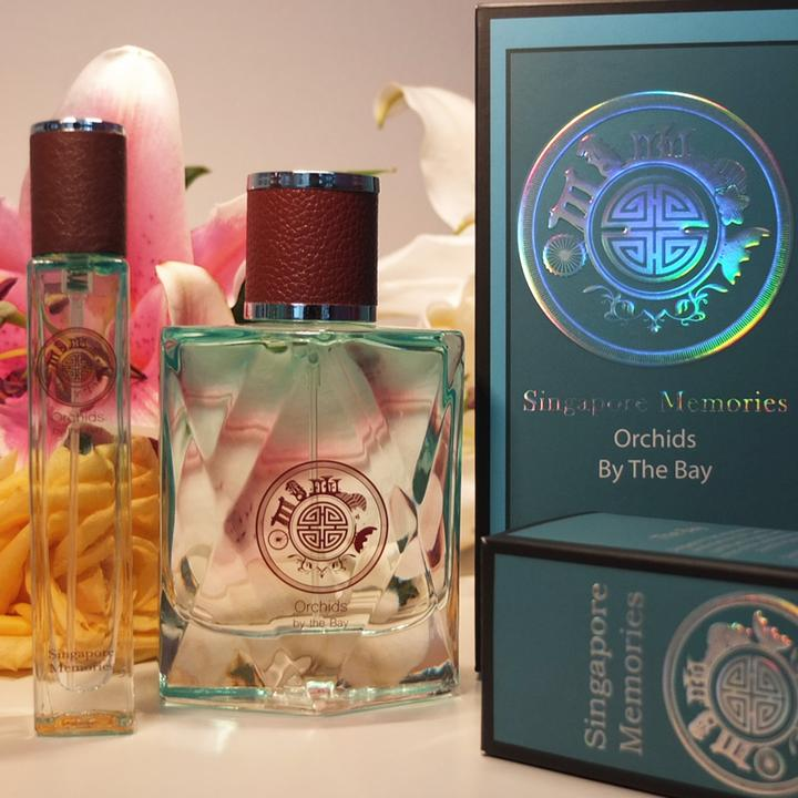 Ladies Perfume Made In Singapore Orchids By The Bay Singapore