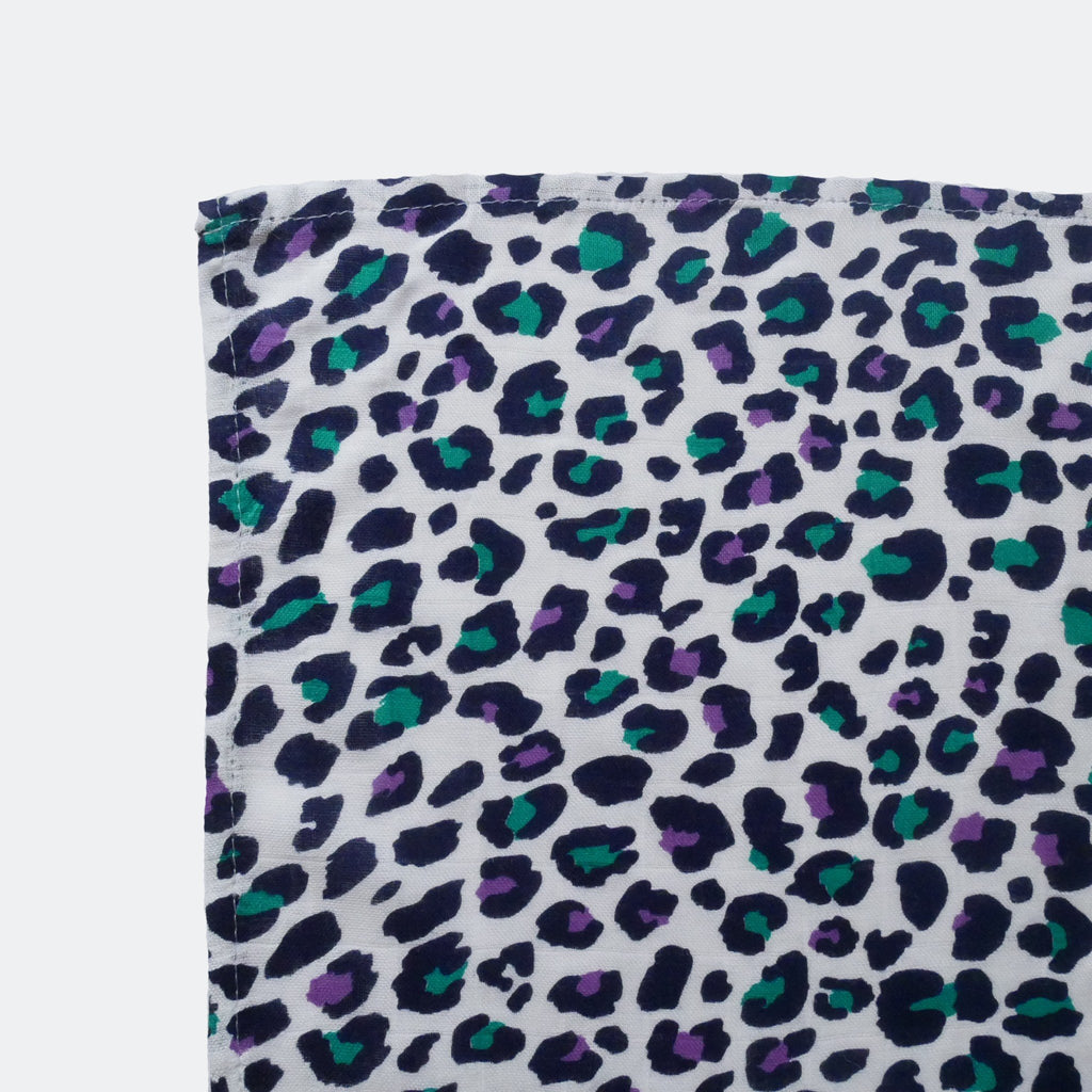 LEOPARD BABY TEETHING COMFORTER - for 5+ month old babies