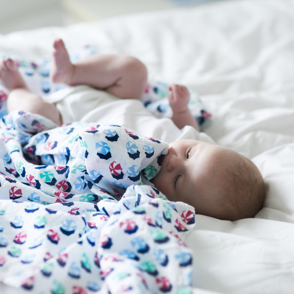 large organic cotton baby muslins - Etta Loves
