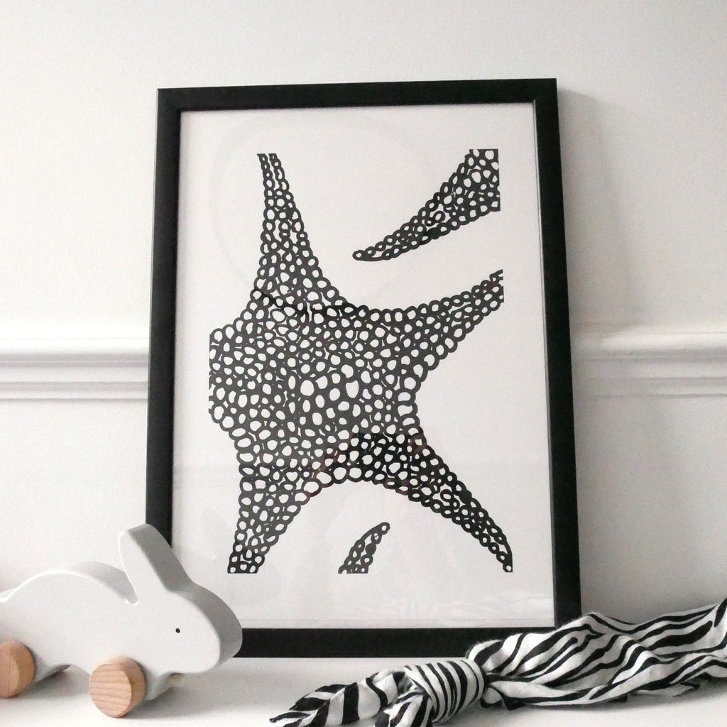 Nursery wall art - baby sensory print | Etta Loves