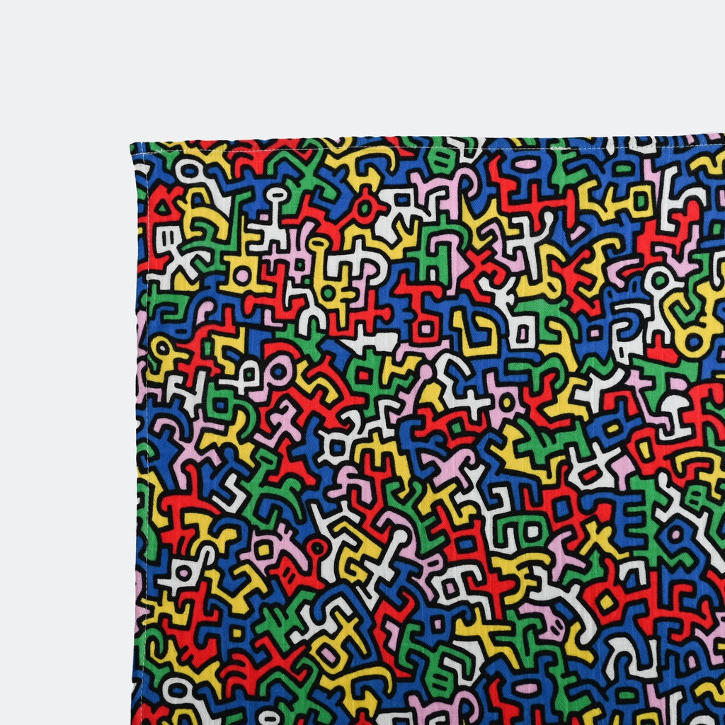 ETTA LOVES x KEITH HARING baby sensory muslins for 5+ months