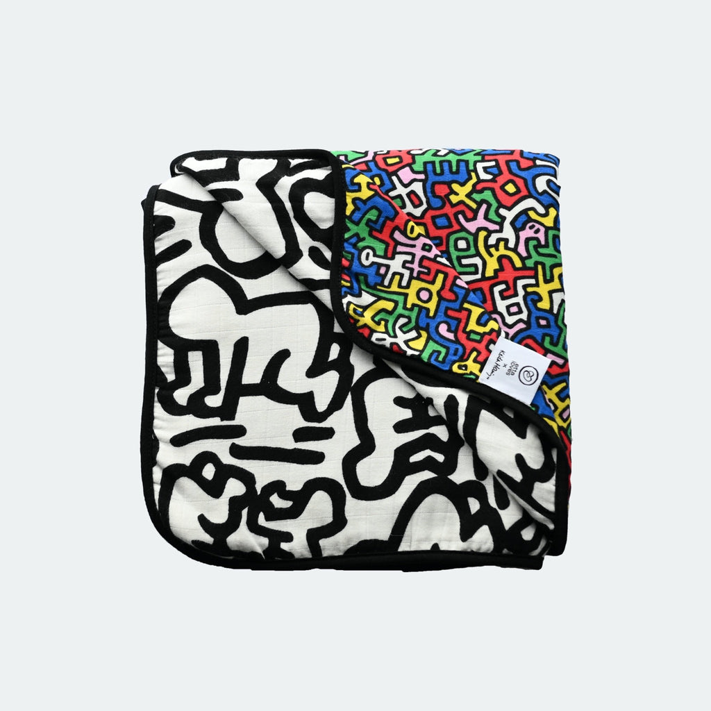 ETTA LOVES x KEITH HARING Muslin blanket - Etta Loves