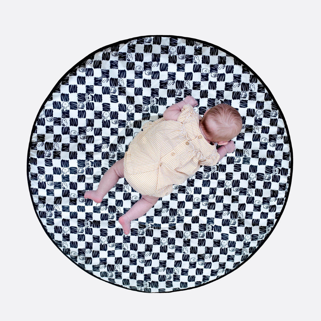 ETTA LOVES X PEANUTS PLAYMAT- reversible newborn to 4 months and 5+ months