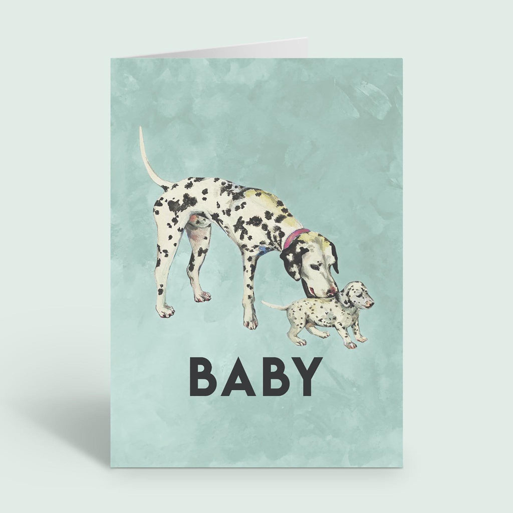 new baby arrival card - Dog - Etta Loves