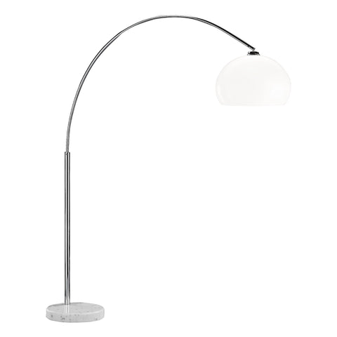 Action Bow 1 Light Chrome Floor Lamp 329401010000
