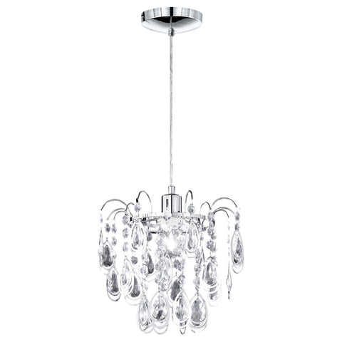 Action Carree 1 Light Chrome Pendant Light 635701010000