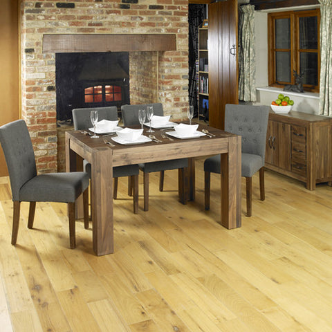 Walnut Dining Table (4 Seater) CDR04A