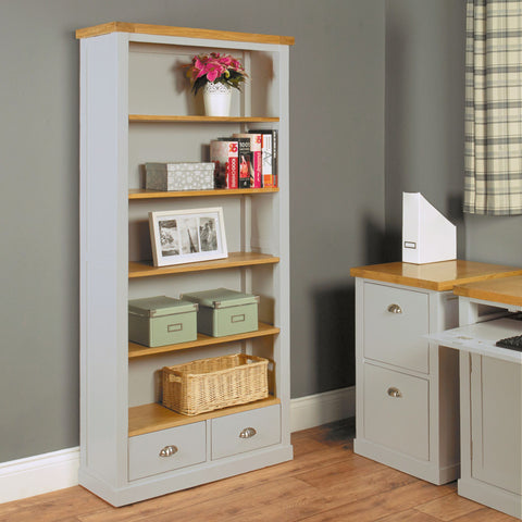 Chadwick Large Bookcase With Two Drawers CGP01A