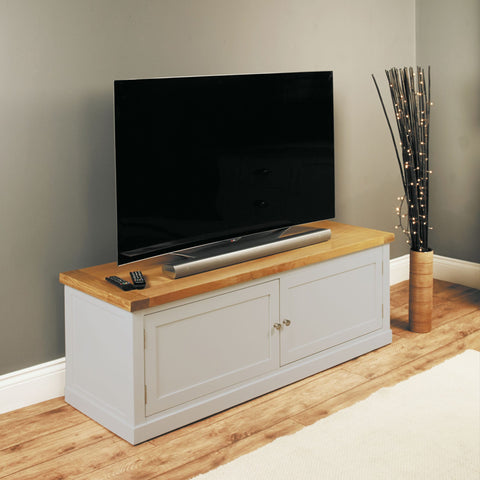 Chadwick Widescreen TV Cabinet With Cupboard CGP09B