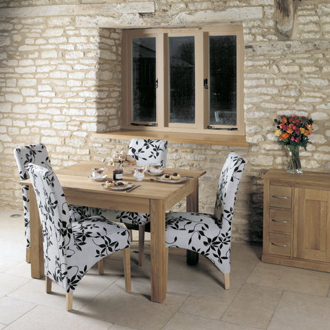 Mobel Oak Dining Table (4 Seater) COR04A